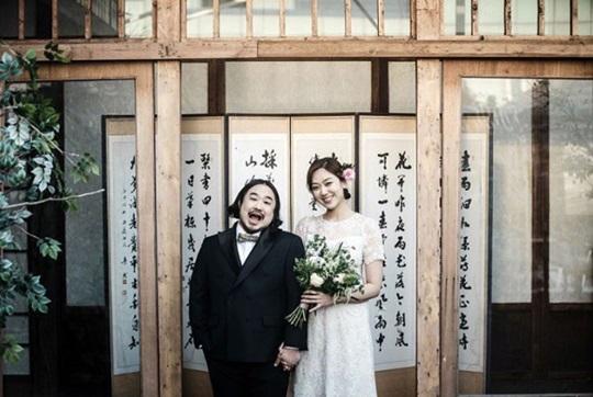 이은형♥강재준, 결혼 앞두고 웨딩화보 공개