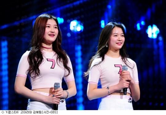 'K팝스타6' 김혜림·고아라, 최고의 1분으로 등극