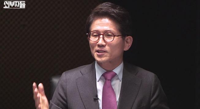 김문수 '외부자들' 출연, 녹화 중단까지?