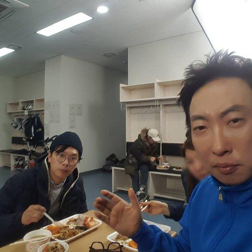 개그맨 박명수, 김태호피디와 어색한 식사시간