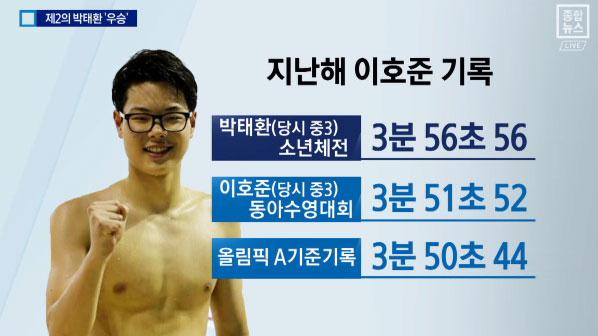 박태환 이을 '제2의 마린보이' 이호준 선수