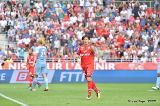 권창훈, 리그앙 데뷔골 폭발…팀내 최고 평점 7.7점
