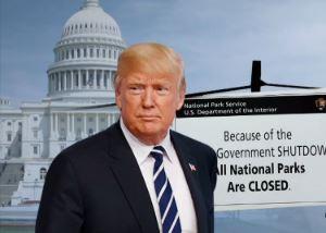 '셧다운' 이틀째…백악관 민원 전화도 불통