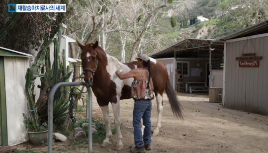 """""""말 타고 고쳐요"""" 재활치료"""