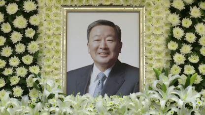 故 구본무 회장 가족장…재계 주요 인사 조문행렬