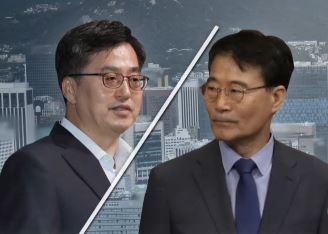 """김동연 """"빨리 회복 안돼"""" vs  장하성 """"연말 회복"""""""