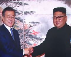 """김정은 """"핵무기 없는 땅"""" 이미지"""
