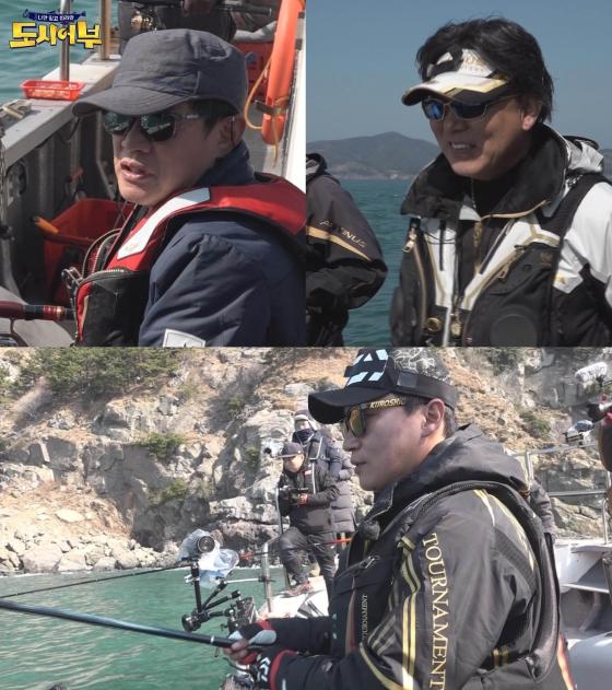 '도시어부' 이경규, 감성돔 기록 경신 도전