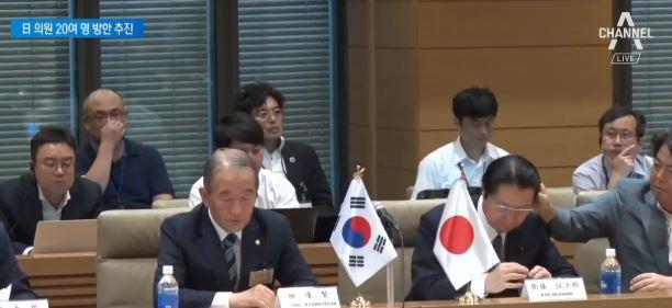 日 자민당 기류 변화?…한국 정치권 잇단 회동
