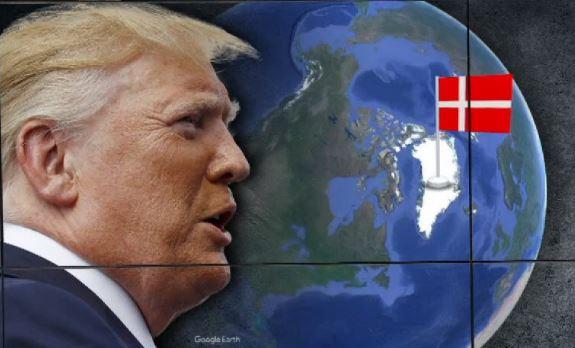 """트럼프 '그린란드' 눈독…""""팔 생각 없다"""" 펄쩍 뛴 덴마크"""