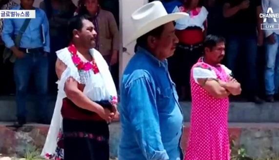 [글로벌뉴스룸]멕시코 주민들, 공약 안 지킨 시장 끌고 다녀