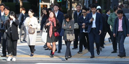 [날씨]출근길 서울 '9도'…일교차 커