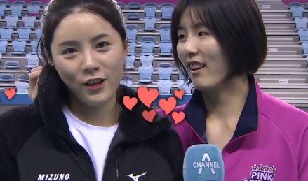 """쌍둥이 배구자매의 솔직한 입담…""""아프냐? 나도 아프다"""""""
