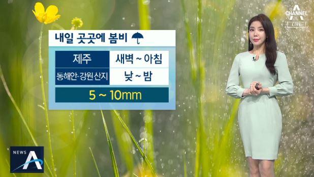 [날씨]내일 곳곳에 봄비…미세먼지 '나쁨 수준'