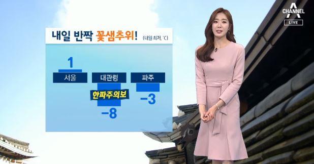 [날씨]내일 아침 '꽃샘추위'…미세먼지 '맑음'