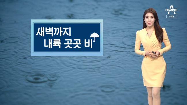 [날씨]내일 새벽까지 '비'…자외선 지수 '높음'