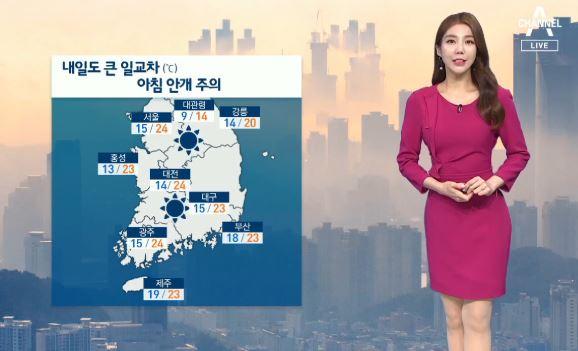 [날씨]맑고 큰 일교차 주의…자외선 지수 높음