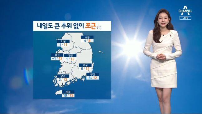[날씨]내일도 큰 추위 없이 포근…서울 아침 기온 1도