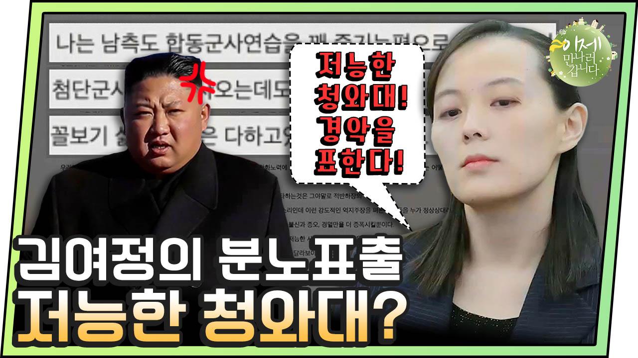 """[#이만갑모아보기] """"저능한 한국, 경악을 표한다"""" 군사훈련 비판하자 북한 서열 2위 김여정 분노 표출?! 이미지"""