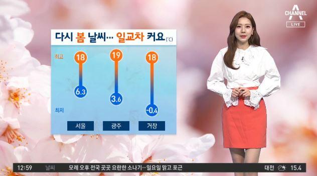 [날씨]오늘 낮 기온 '포근'…내일 전국 비