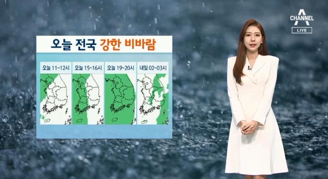[날씨]전국 강한 비바람…제주 250mm 폭우