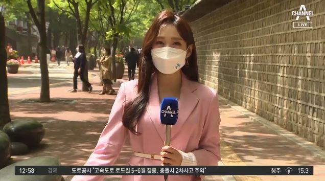 [날씨]오늘 수도권 '서늘'…황사 영향, 보건용 마스크 착용