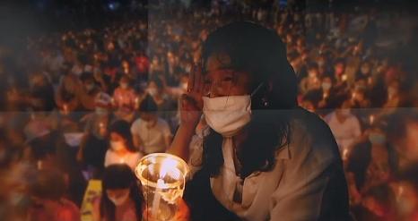 미얀마 군부 쿠데타 780명 희생