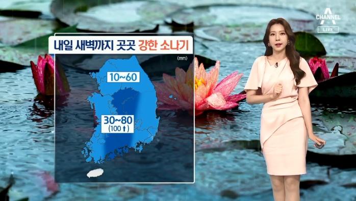 [날씨]내일까지 요란한 소나기…일부 지역 시간당 50mm