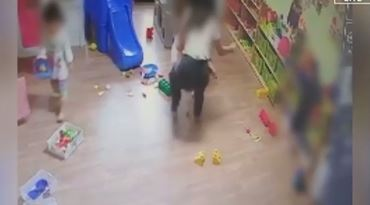 CCTV 포착된 어린이집 이미지