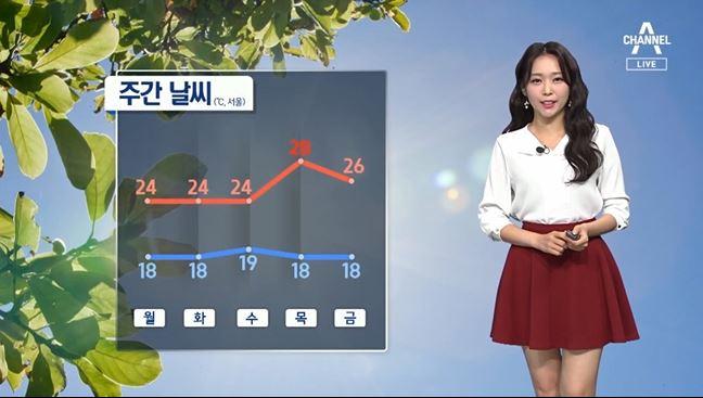 [날씨]수요일까지 최고기온 25도↓…제철 음식으로 면역력 지켜요