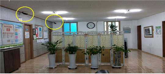 CCTV로 직원 실시간 감시
