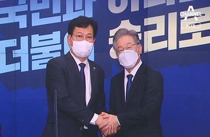 """송영길 """"이재명 당선도 정권교체""""?…호남 지지율 급락"""