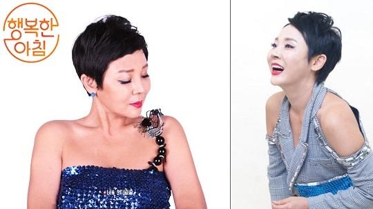 '행복한 아침' 가수 한서경, 원조 동안미녀의 자기관리 비법 공개