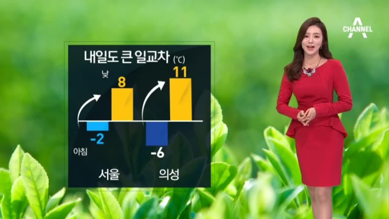 [날씨]내일 대체로 맑고 포근…서울 ·대전 -2도