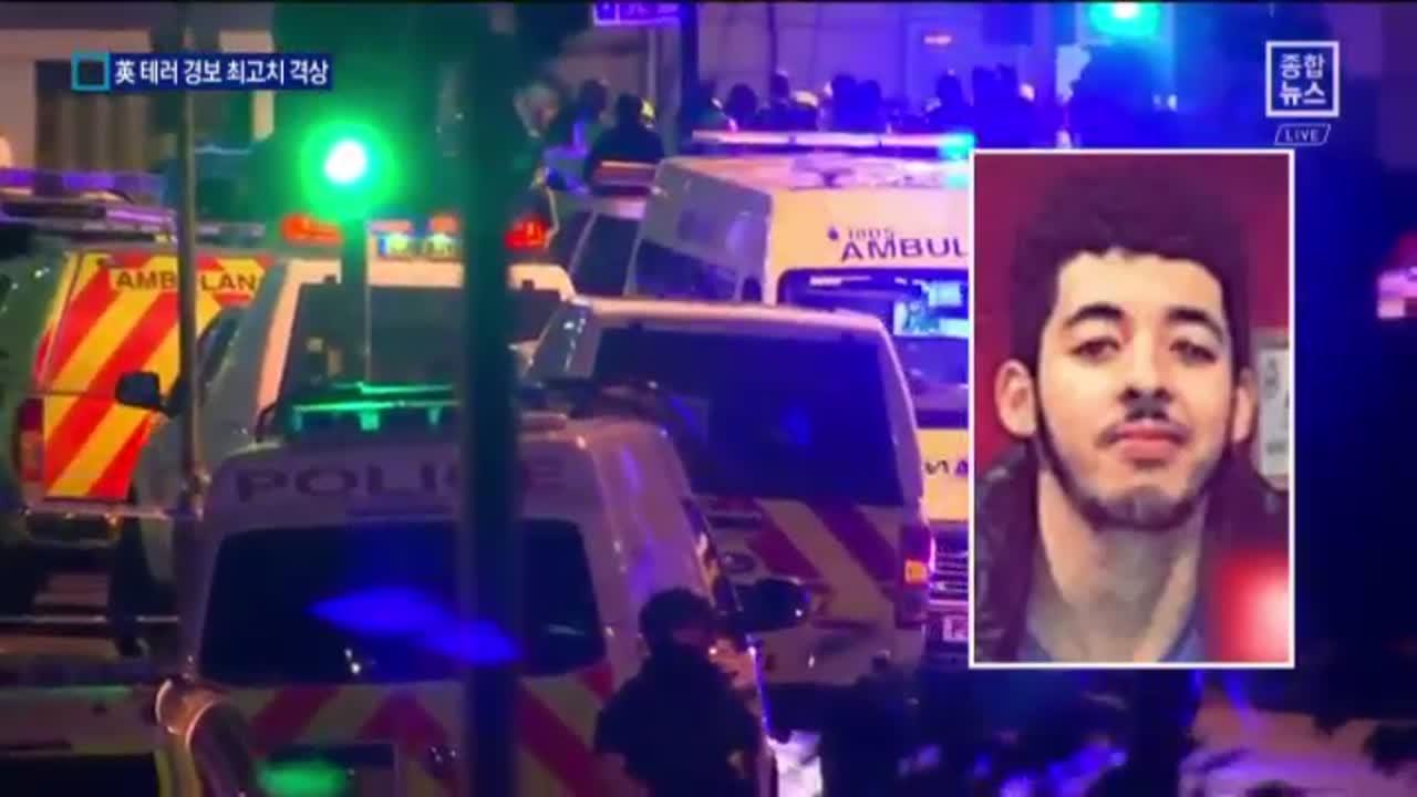 英 테러 경보 격상…맨체스터 희생자 추모