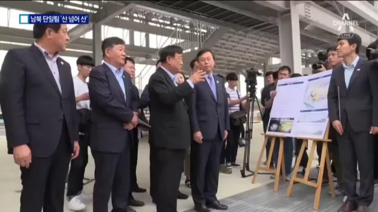 평창올림픽 남북 단일팀 '산넘어 산'