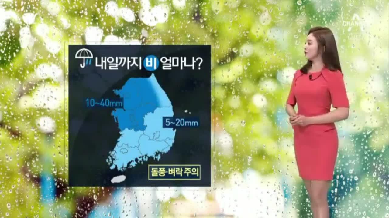 [날씨]전국에 산발적 비…기온 내려간다
