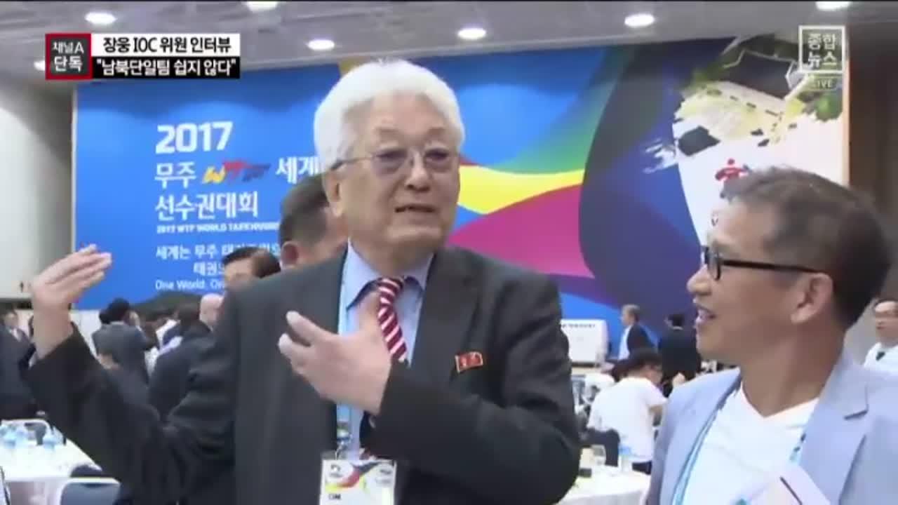 """[채널A단독]""""남북 단일팀 어렵고, 분산개최는 늦었다"""""""