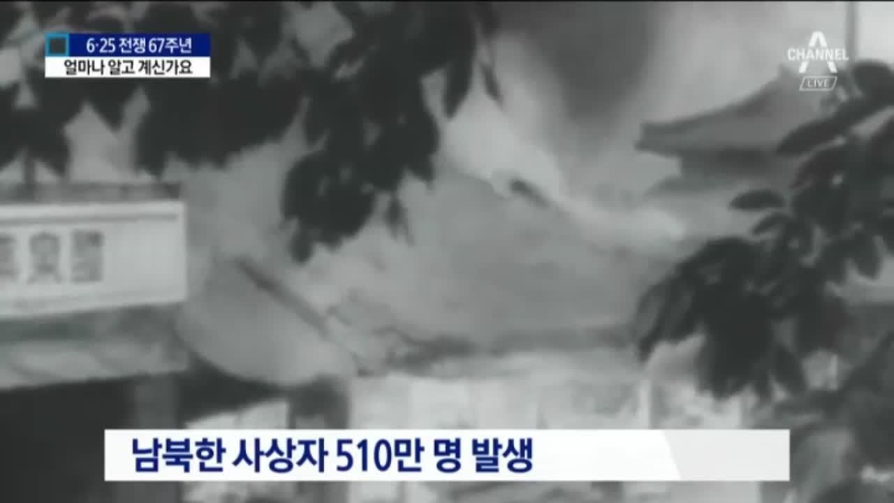 """6.25는 잊혀진 전쟁?…""""발생 연도 몰라요"""""""