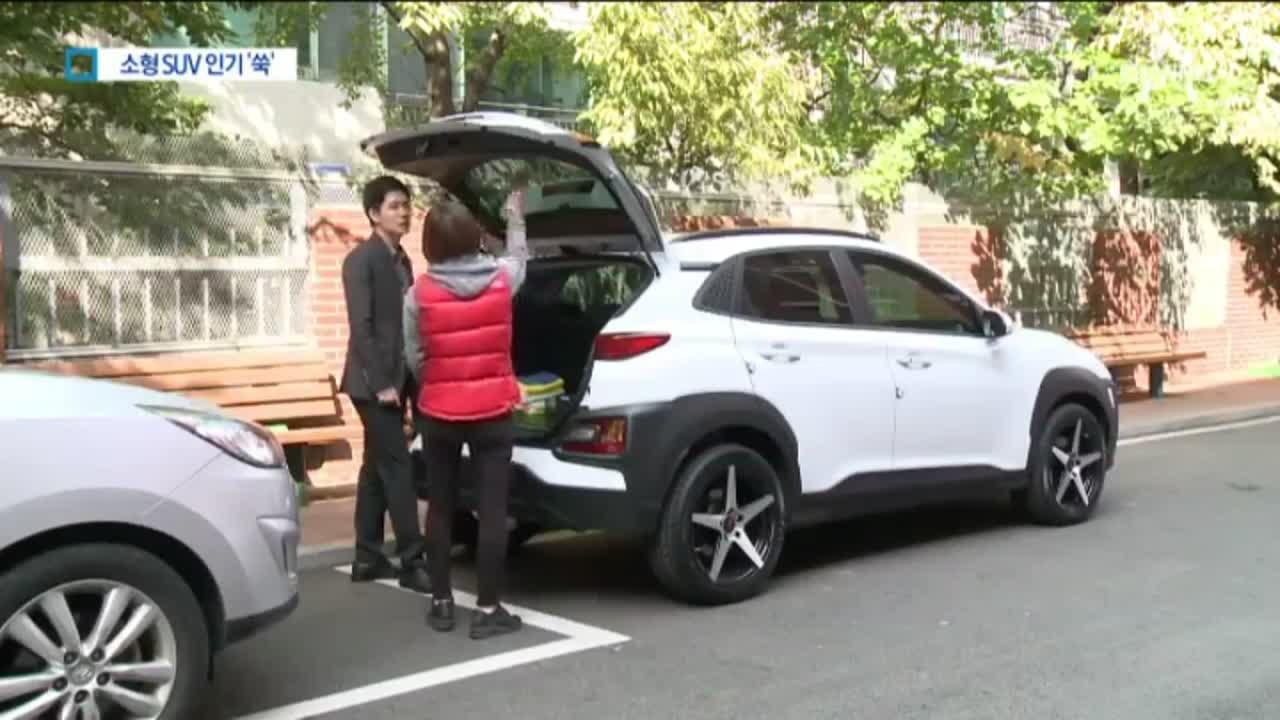 소형 SUV 찾는 소비자…반토막 난 소형차 시장