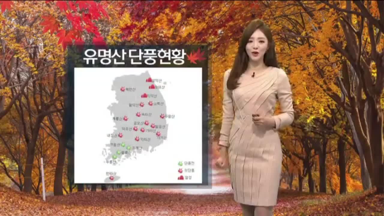 [날씨]선선한 가을 날씨…동쪽 지방 비