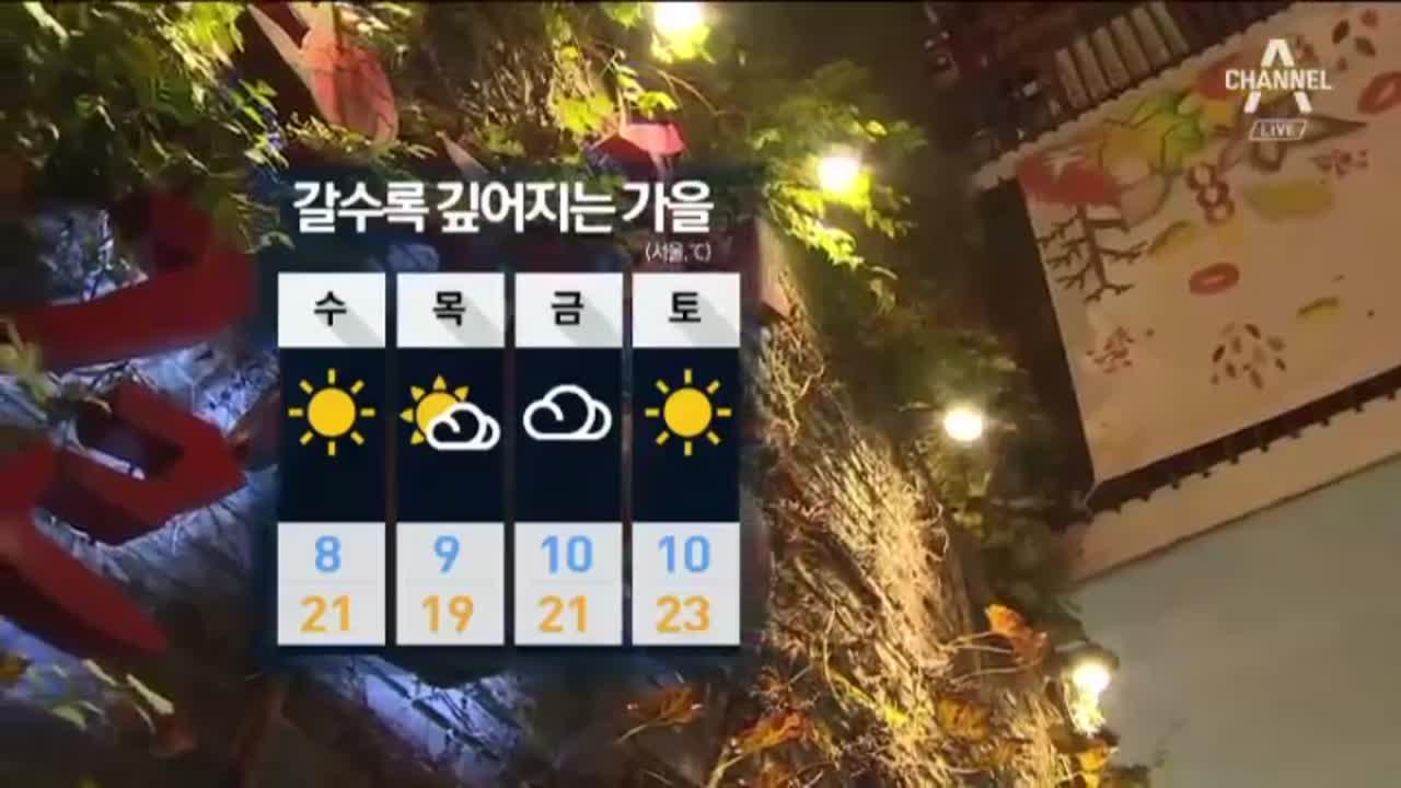 [날씨]아침·저녁 쌀쌀…일부지역 서리·얼음 관측