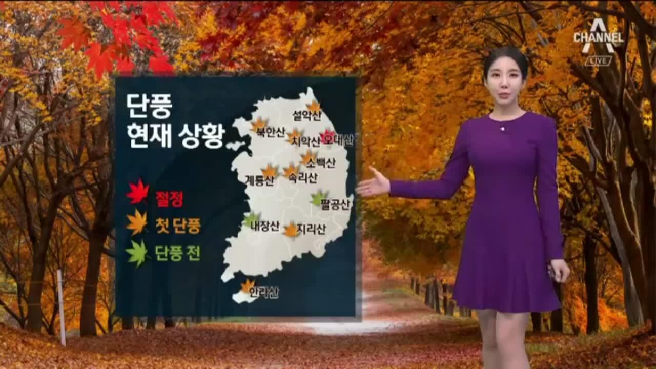 [날씨]주말에도 가을 추위…큰 일교차 주의