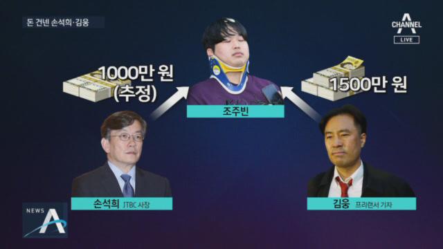 조주빈 후폭풍…손석희 해명에 '삼성' 등장?
