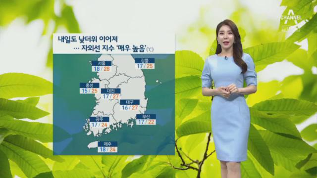 [날씨]내일도 낮더위 이어저…자외선 지수 '매우 높음'