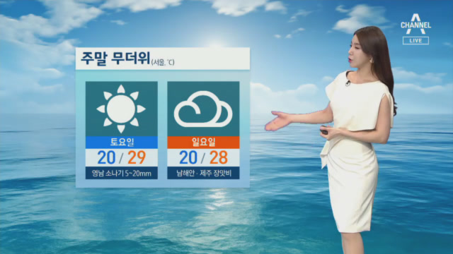 [날씨]내일 전국 무더위 기승…낮 기온 최고 30도