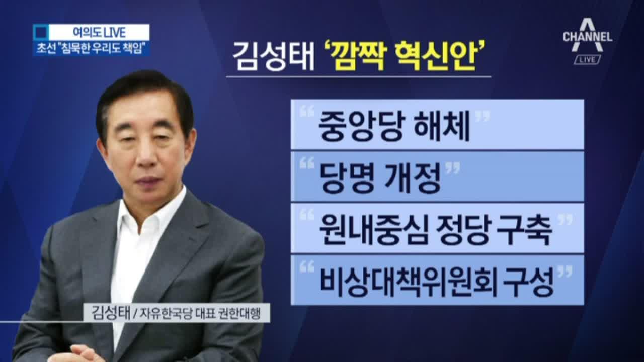 김성태발 혁신 작업…내홍에 빠진 한국당