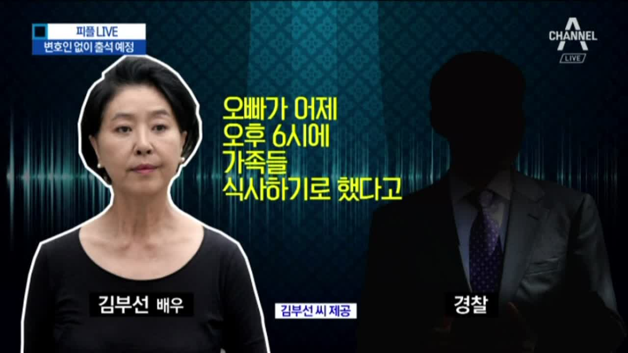 """'피고발인' 김부선 소환…""""싱글로 속인 게 심각"""""""