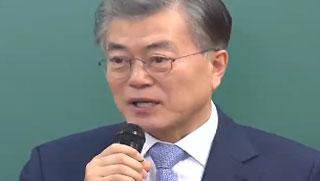 문재인, 대선 여론조사 독주…가상대결 '전승'