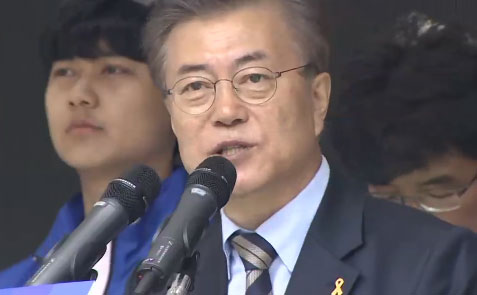 """文 """"사드, 국회 동의 받아야""""…洪-安 '박빙'"""